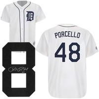 Rick Porcello Autographed Detroit Tigers Jersey
