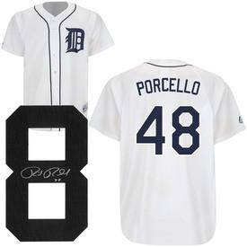 Rick Porcello Autographed Detroit Tigers Jersey - Detroit City Sports bd743ff8b74