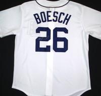 Brennan Boesch Autographed Detroit Tigers Jersey