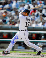 Alex Avila Autographed Detroit Tigers 16x20 Photo #1 - Home Batting