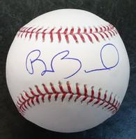 Brennan Boesch Autographed Baseball
