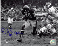 Gale Sayers Autographed Chicago Bears 8x10 Photo #1