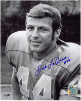 Dick Lebeau Autographed Detroit Lions 8x10 Photo #1