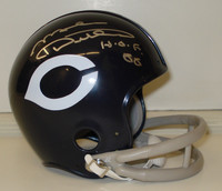 "Mike Ditka Autographed Chicago Bears Mini Helmet w/ ""HOF 88"""