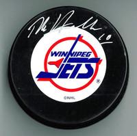 Dale Hawerchuk Autographed Winnipeg Jets Puck