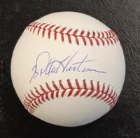 Willie Horton Autographed Official Major League Baseball