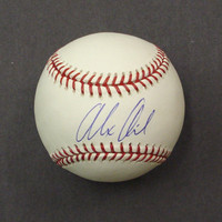 Alex Avila Autographed Baseball - Official Major League Ball