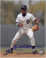 Lou Whitaker Autographed Detroit Tigers 8x10 Photo #7