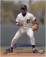 Lou Whitaker Autographed Detroit Tigers 8x10 Photo #7
