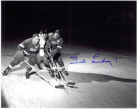 Ted Lindsay Autographed Detroit Red Wings 8x10 Photo #4