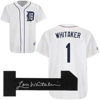 Lou Whitaker Autographed Detroit Tigers Jersey