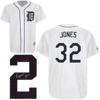 Ruppert Jones Autographed Detroit Tigers Jersey