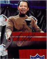 Charlie Sanders Autographed Detroit Lions 8x10 Photo #3