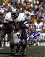 Charlie Sanders Autographed Detroit Lions 8x10 Photo #2