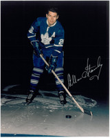 Allan Stanley Autographed Toronto Maple Leafs 8x10 Photo #1