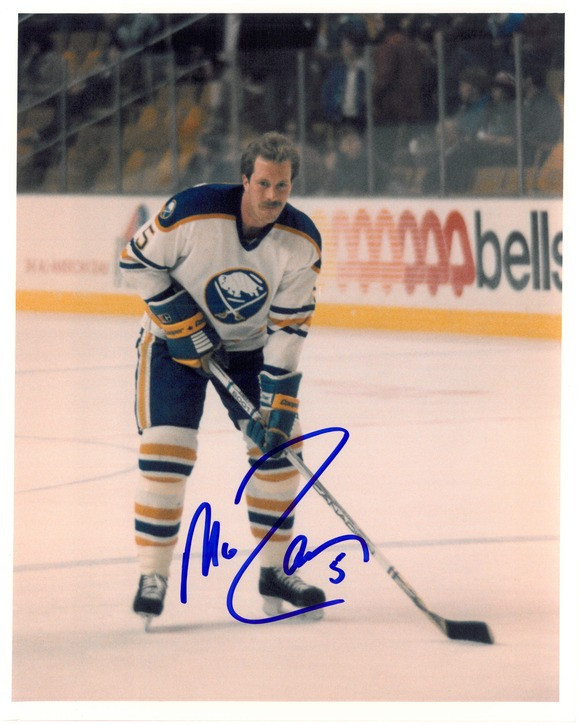the latest b7ac0 efafc Mike Ramsey Autographed Buffalo Sabres 8x10 Photo #1