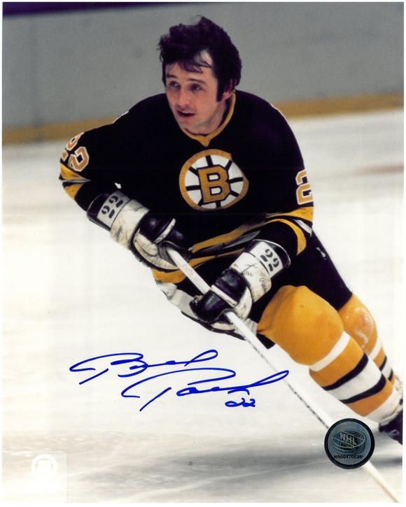 super popular 1108a 9cfad Brad Park Autographed Boston Bruins 8x10 Photo