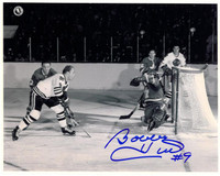 Bobby Hull Autographed Chicago Blackhawks 8x10 Photo #5