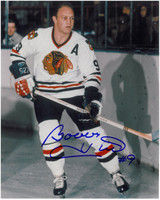 Bobby Hull Autographed Chicago Blackhawks 8x10 Photo #2