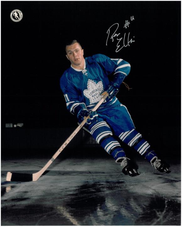 outlet store 67f38 fed81 Ron Ellis Autographed Toronto Maple Leafs 8x10 Photo #2