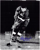Alex Delvecchio Autographed Detroit Red Wings 8x10 Photo #2