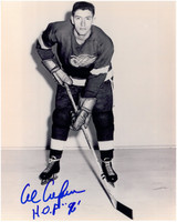 Al Arbour Autographed Detroit Red Wings 8x10 Photo