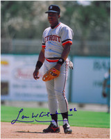 Lou Whitaker Autographed Detroit Tigers 8x10 Photo #4