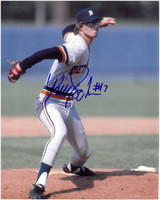 Bill Scherrer Autographed Detroit Tigers 8x10 Photo #6