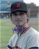 Bill Scherrer Autographed Detroit Tigers 8x10 Photo #4