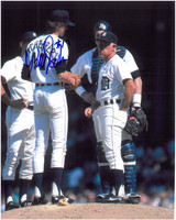 Bill Scherrer Autographed Detroit Tigers 8x10 Photo #2