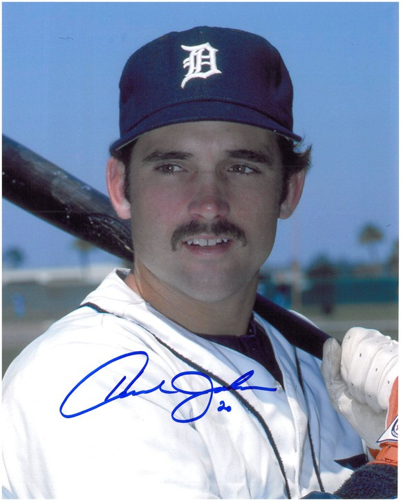 Howard Johnson Autographed Detroit Tigers 8x10 Photo 3