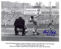 Bob Feller Autographed Cleveland Indians 8x10 Photo #4
