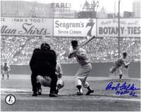 Bob Feller Autographed Cleveland Indians 8x10 Photo #3