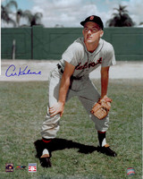 Al Kaline Autographed Detroit Tigers 16x20 Photo - Color Fielding