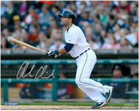 Alex Avila Autographed Detroit Tigers 8x10 Photo #12 - Home Swinging Horizontal