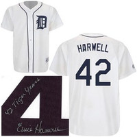 Ernie Harwell Autographed Ltd. Ed. Jersey