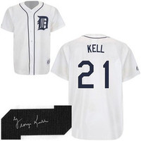 George Kell Autographed Detroit Tigers Jersey