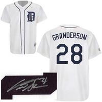 Curtis Granderson Autographed Detroit Tigers Jersey