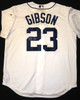 Kirk Gibson Autographed Detroit Tigers Jersey