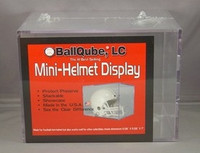 Mini Helmet Cube Display Case by Ballqube