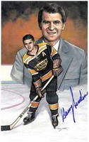 Harry Sinden Autographed Legends of Hockey Card