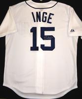 Brandon Inge Autographed Detroit Tigers Jersey