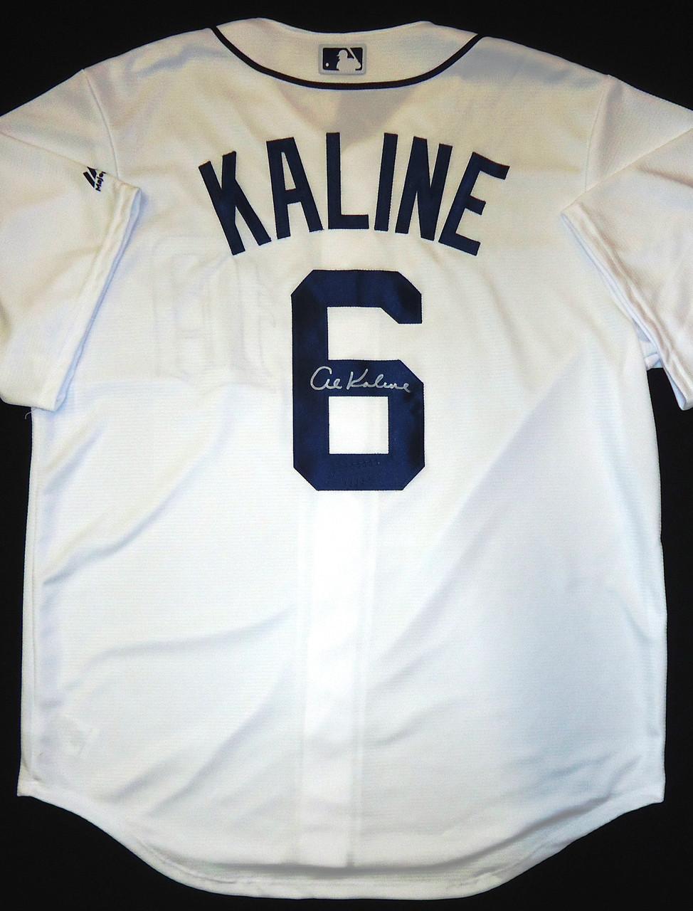 size 40 abc96 2dffc Al Kaline Autographed Detroit Tigers Home Jersey