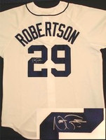 Nate Robertson Autographed Detroit Tigers Jersey