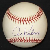 Al Kaline Autographed Baseball - Official Major League Ball