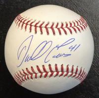 Darrell Evans Autographed Baseball - Official Major League Ball