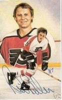 Bill Barber Autographed Legends of Hockey Card