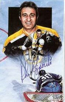 Phil Esposito Autographed Legends of Hockey Card