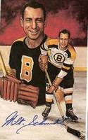 Milt Schmidt Autographed Legends of Hockey Card