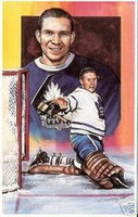 Harry Lumley Legends of Hockey Card #1